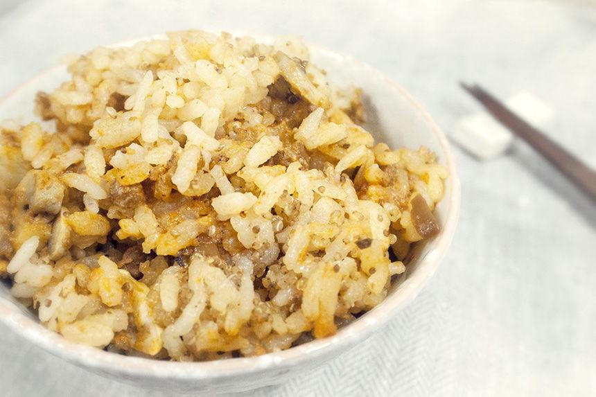 幸福蔬食-義式蕃茄紅藜米飯