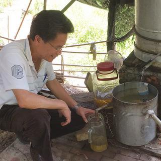 遵古法 香茅油傳統製程