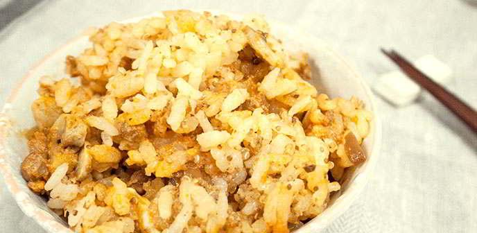 【食譜】義式蕃茄紅藜米飯