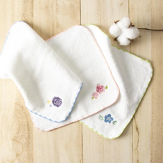 有機棉棉絨小手巾