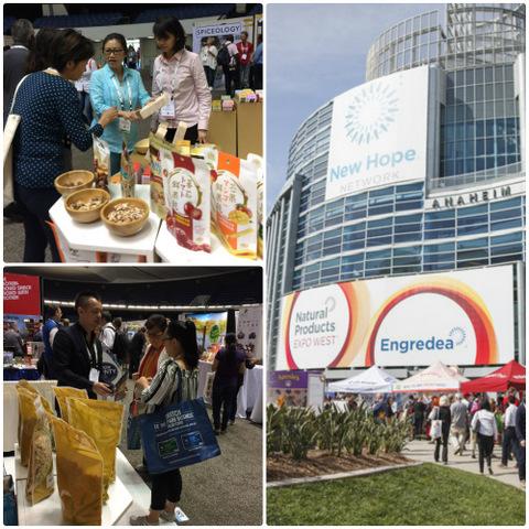 里仁攜手廠商參與2017美西天然產品博覽會