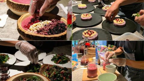 藍莓料理大賞_藍莓果昔_藍莓西西里咖啡_藍莓沙拉_藍莓燕麥