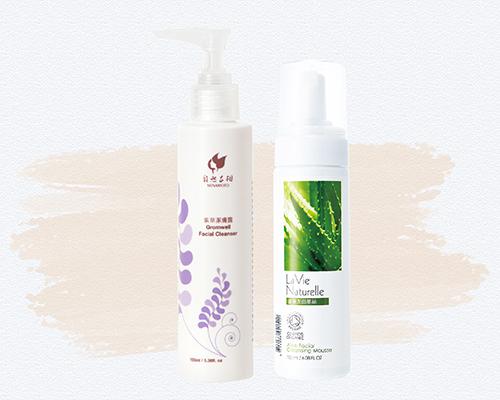 保養順序Step2 清潔-洗臉