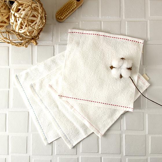 有機棉棉麻小搓巾